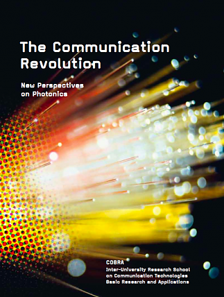 The Communication Revolution. New Perspectives on Photonics. Glass Fiber Cable. Glasfaserkabel. The Communication Revolution:New Perspectives on PhotonicsISBN: 9789038621555Text: Dr. Sybe Izaak Rispens, Bram Vermeer, Bas den Hond.Design: wernerwerke, Ann-Christine Cordes and Maximilian Werner, BerlinPublisher: COBRA, Eindhoven, the Netherlands | SYBE RISPENS science writing