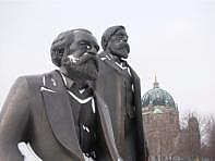 SYBE RISPENS science writing - Marx, Engels, Alexanderplatz, Berlin